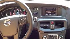 Volvo V40 - D3 -110 KW/150 PS - Ersteindruck  TFT Display - Start up Engine Sound