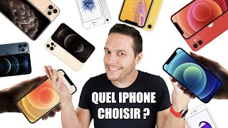 Quel iPhone CHOISIR ? 2020 / 2021
