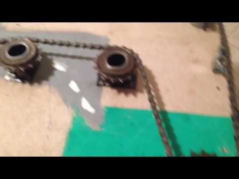 Presepio meccanico realizzato con motore elettrico e corone - YouTube