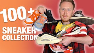 ENTIRE Sneaker COLLECTION 100+ Pairs! OFF WHITE, YEEZY, Air Jordan, NIKE, etc. (MID 2020)