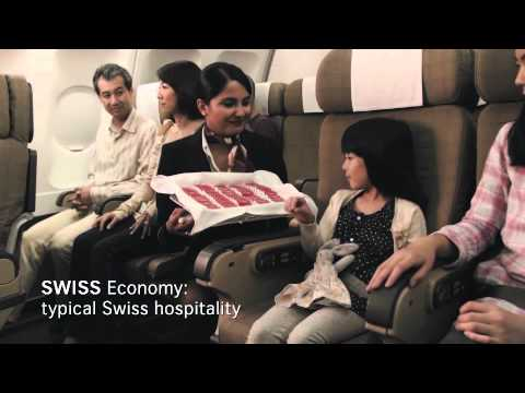 SWISS, the airline of Switzerland