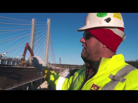 Nipigon Bridge HOW DID THEY DO IT?? Priestly Demolition Inc.