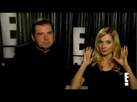 Brendan Coyle and Joanne Froggatt Downton Abbey