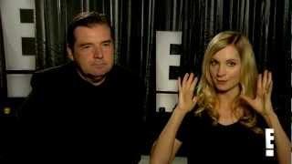 Brendan Coyle and Joanne Froggatt Downton Abbey Interview