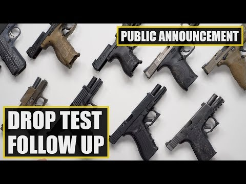 Sig Sauer P320 Drop Test Follow Up