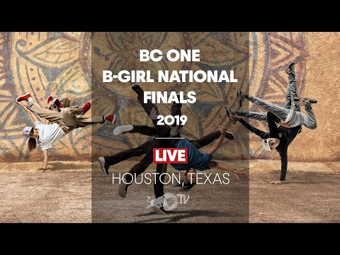 Red Bull BC One B-Girl Cypher Houston 2019