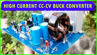 High Current CV-CC Buck Converter With Overheat Protection