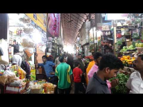 Inside Crawford Market Bombay