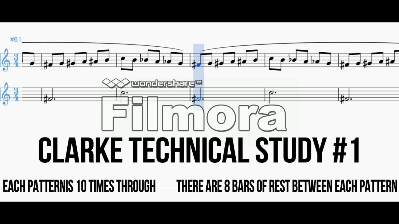 Clarke Technical Studies (First Study