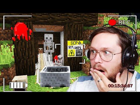 Je suis Rentré dans SCP-1671 sur ma survie Minecraft SCP / FNAF #11