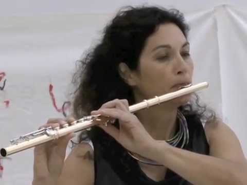 """Anastassis Philippakopoulos """"song 6"""" (2010) for flute Katrin Zenz, flute"""