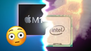 Apple Silicon M1 Smokes Intel in Side by Side Benchmarks
