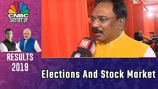 CNBC Awaaz Live Business News Channel | Stock Market Surge Following Vote Counting | Full Coverage