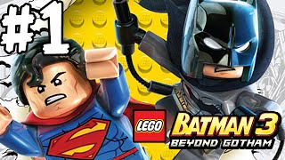 LEGO BATMAN 3 - BEYOND GOTHAM - LBA - EPISODE 1 (HD)