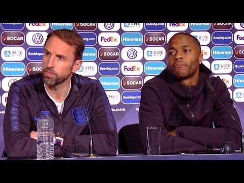 Gareth Southgate & Raheem Sterling Pre-Match Presser - Netherlands v England - Nations League Semi