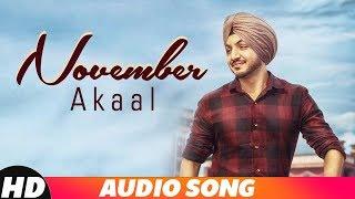 November (Full Audio) | Akaal | Parmish Verma | Latest Punjabi Song 2018 | Speed Records