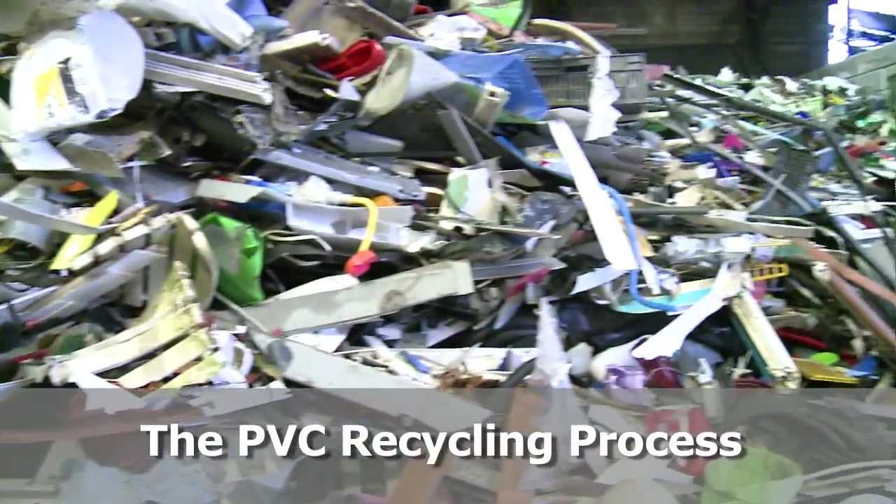 PVC Recycling Process Explained