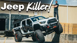 Toyota Tacoma Jeep KILLER! Fab Fours Build Walk Around