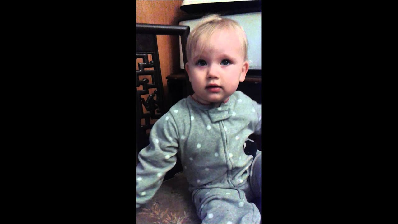 My 15 month old talking