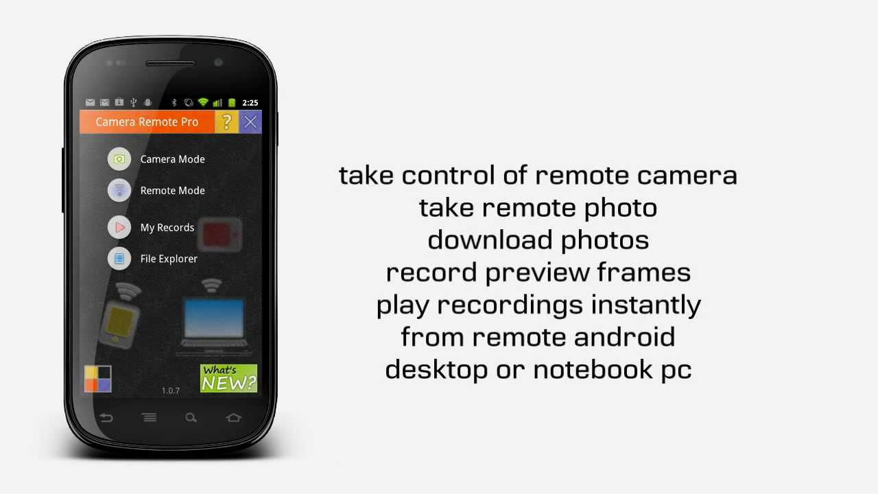 Camera Remote Android Application