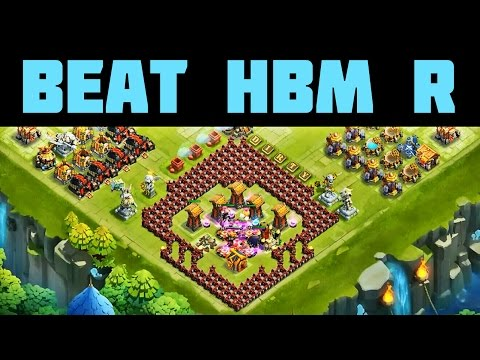 Castle Clash: Here Be Monsters Challenge R