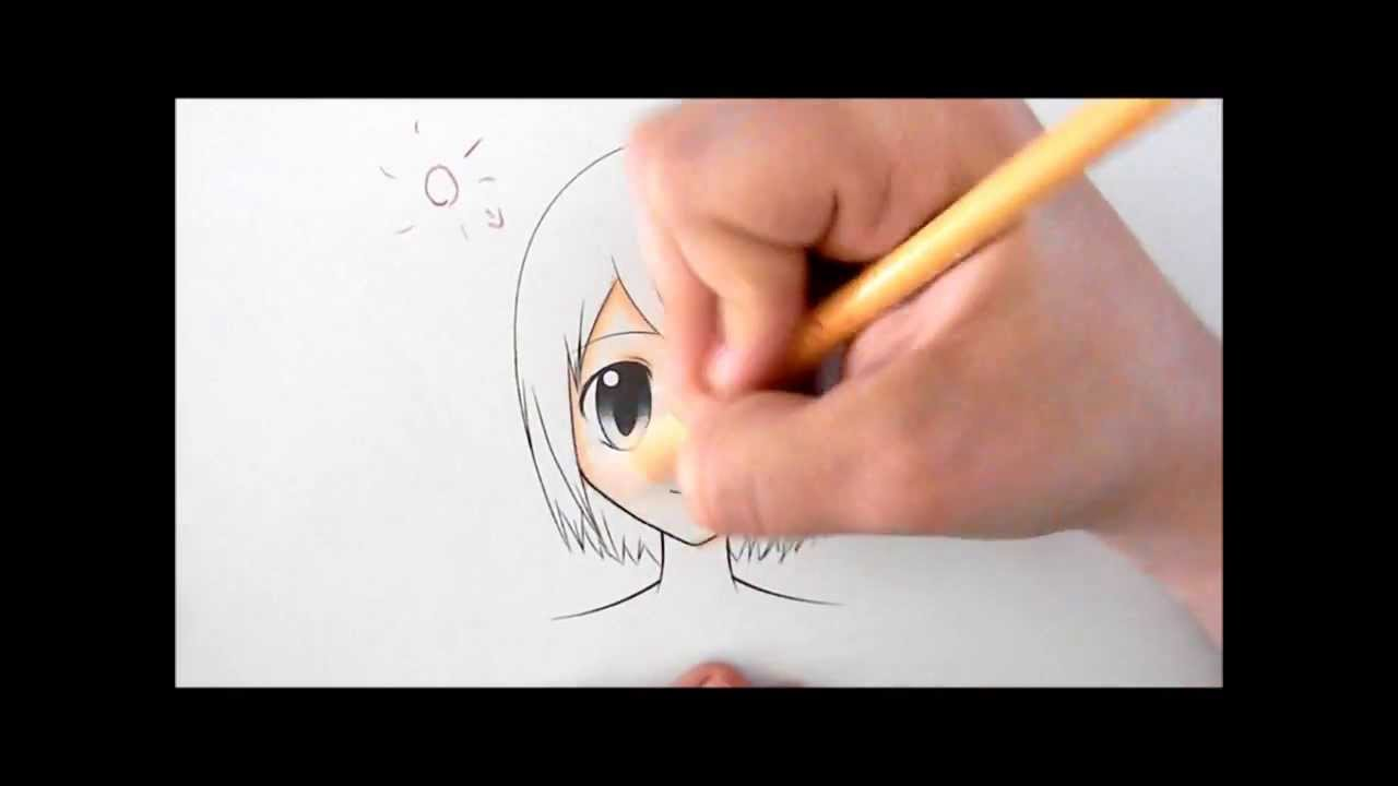 How to Color Skin with Colored Pencils - YouTube
