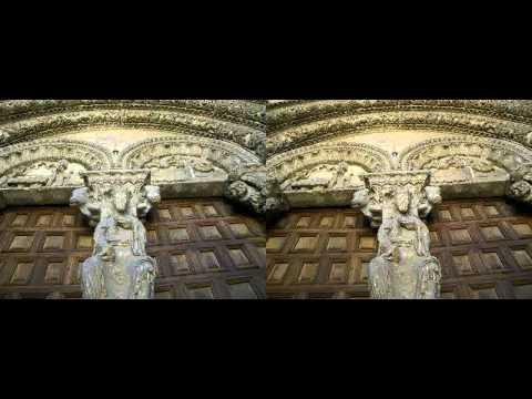 3D Basílica de San Vicente - AVILA ( SPAIN) - romanico3d.com