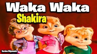 Waka Waka (This Time for Africa) - Shakira (Version Chipmunks - Lyrics/Letra) 🎧 HD