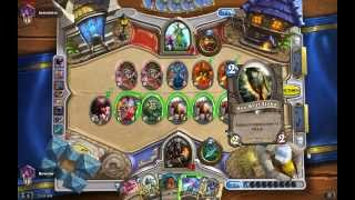 Hearthstone Hunter: Leeroy Jenkins Starving Buzzard Unleash The Hounds Combo