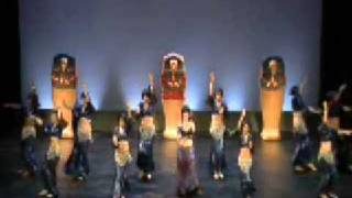 Egyptian Dance - Danza della Luna - Walk Like an Egyptian / The Captivation