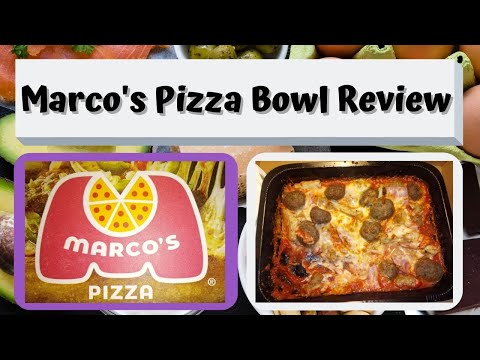 Marco's Pizza Bowl Review