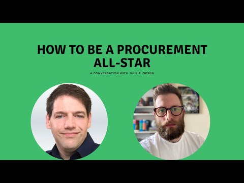How to be a Procurement All Star with Philip Ideson