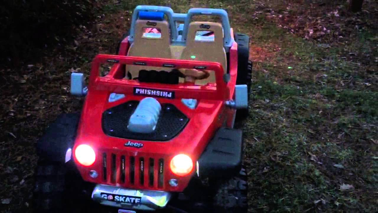 power wheels jeep hurricane lights mod youtube. Cars Review. Best American Auto & Cars Review