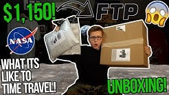INSANE UNBOXING THE $1,150 POLO RALPH LAUREN x NASA HEATED JACKET! | WHAT ITS LIKE TO TIME TRAVEL...