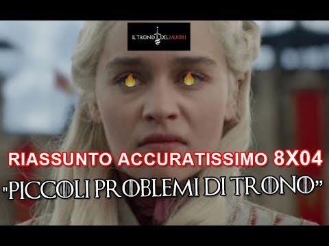 RECENSIONE GAME OF THRONES 8x04 RIASSUNTO ACCURATISSIMO 'PICCOLI PROBLEMI DI TRONO'