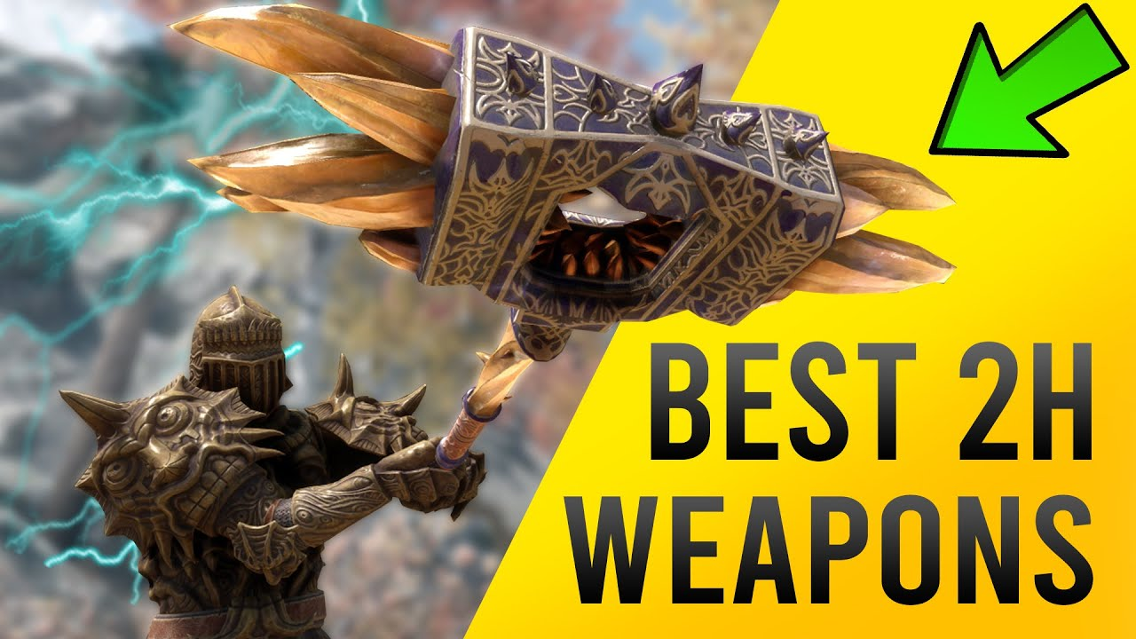 Skyrim BEST TWO HANDED Weapon Location - Nerveshatter! thumbnail