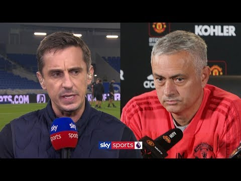 Gary Neville reacts to reports Jose Mourinho is set to be sacked by Man United