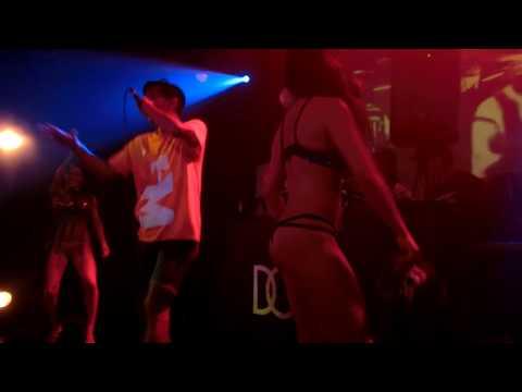 SWEETRAVE+MARI ゴーゴーダンサー Tバックセクシーダンス Zeebra&EGOのライブ