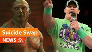 John Cena Joining Suicide Squad 2 as Dave Bautista Leaves