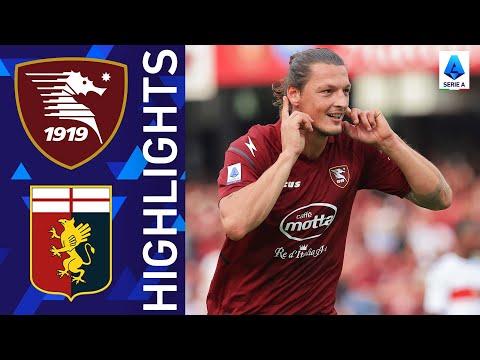 Salernitana Genoa Goals And Highlights