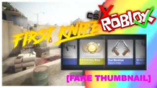 FIRST KNIFE OMG! (not rlly) [ROBLOX]