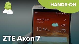 ZTE Axon 7: 6GB of RAM?!