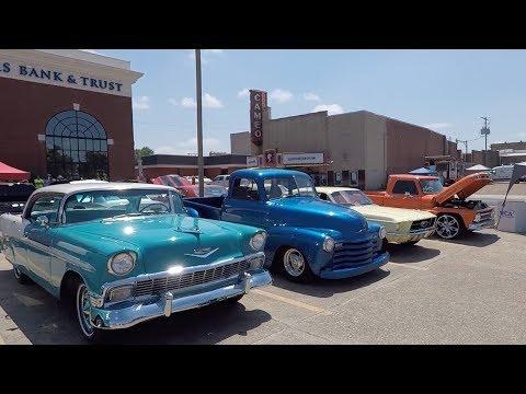 Car Show in Magnolia Arkansas (5-19-18)