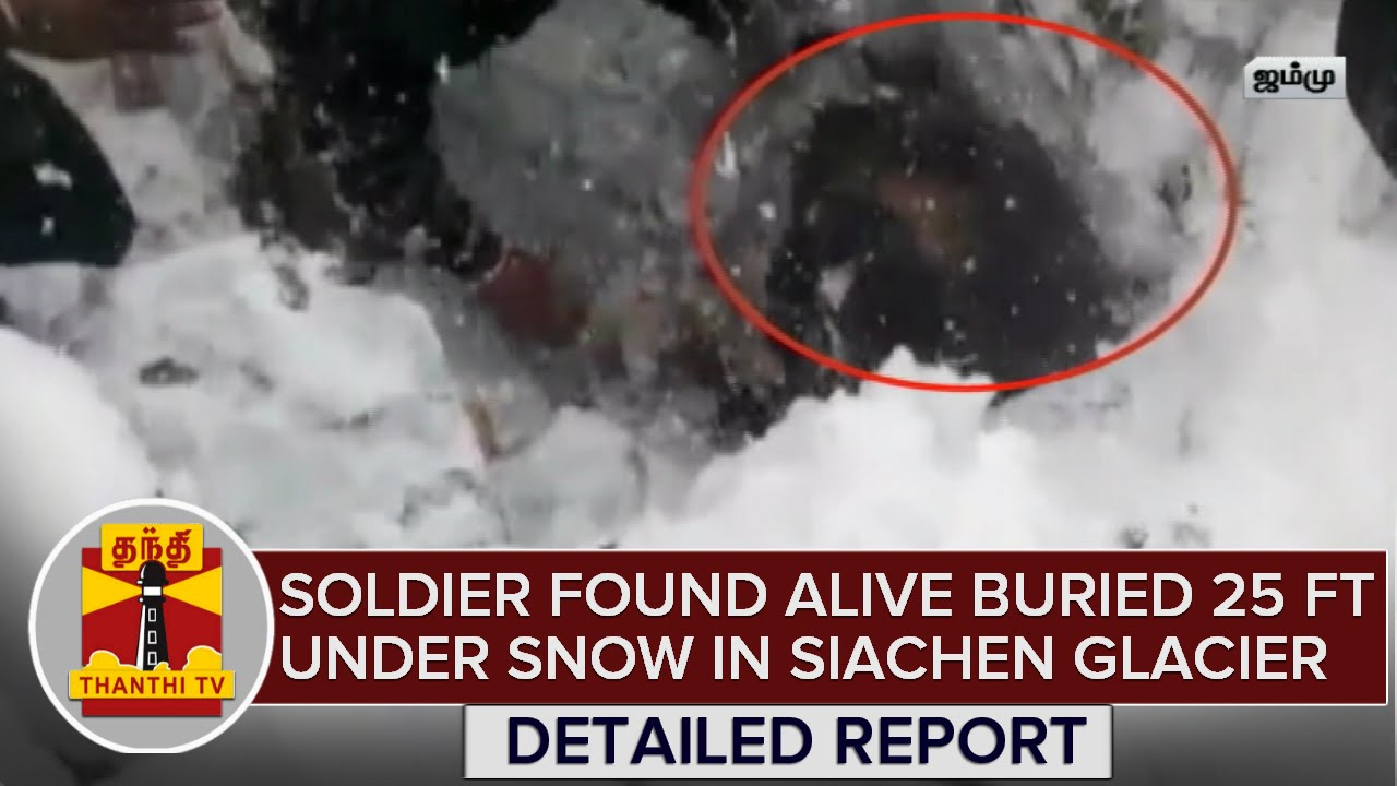 detailed report soldier found alive buried 25 feet under snow on
