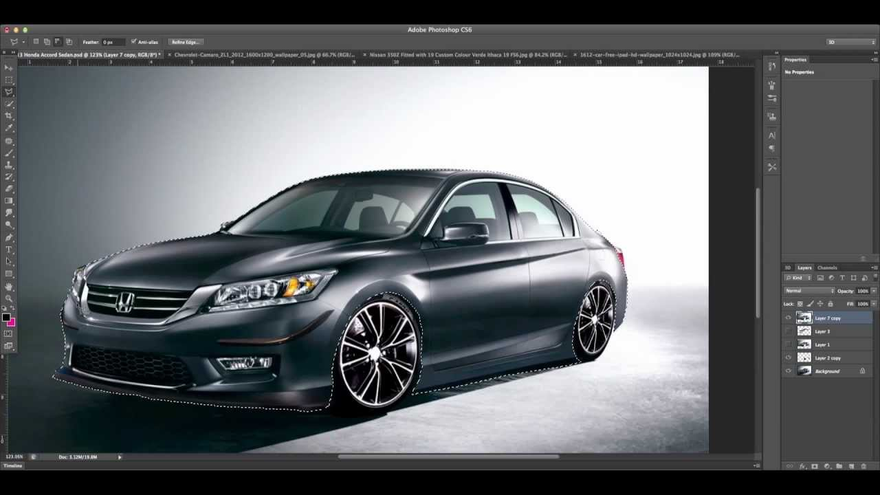 2013 Honda Accord Sedan Virtual Tuning Speed Art Youtube