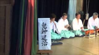 2014梼原津野山神楽(japanese kaguradansu)