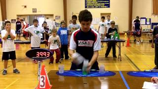 William Polly Sport Stacking Cycle World Record 5.494