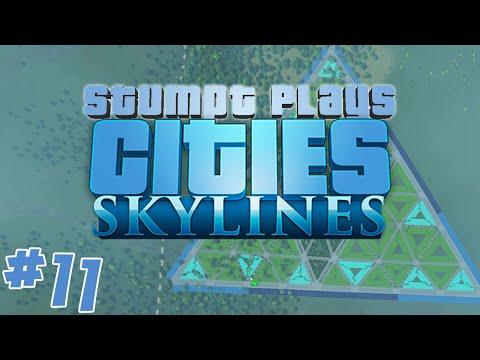 Stumpt Plays - Cities Skylines - #11 - The Illumidistrict