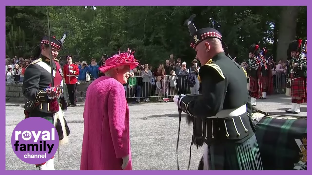 Queen Meets Shetland Pony on Arrival in Balmoral