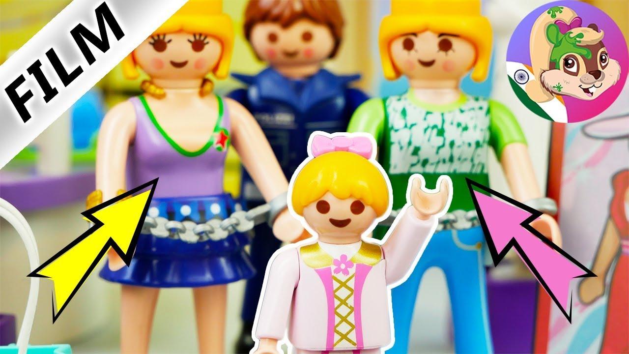 Playmobil Film Hindi Fashion Store me chhoti ladki ne judwa choron ko pakadwa diya